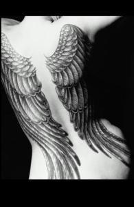 fallen angel tattoos