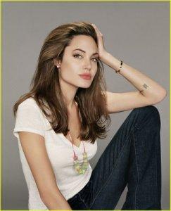 Angelina Jolie Tattoos Pictures Angelina jolie s wrist rune