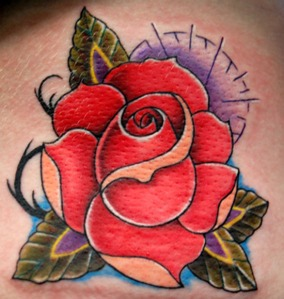 Best and Beautiful Rose Tattoo Design