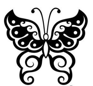Tribal Tattoo, Butterfly Tattoo, Art Tattoo