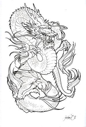 Japanese tattoo art dragon tribal dragon tattoo japanese