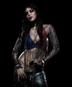 tattoos are sexy. Kat von dee