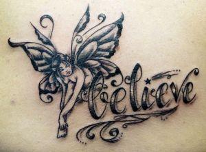 few fairy tattoos ideas