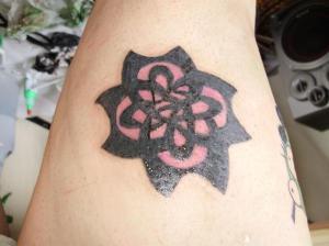 Posted in Flower UV Tattoo. Flower UV Tattoo. Saturday, October 2, 2010