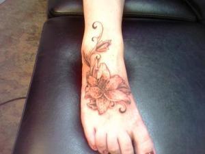 New Lower Back Tattoo Design for Women.