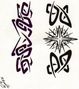 free tribal tattoo design If you are fond of tribal tattoos,