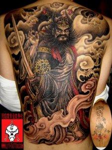 pubis tattoo