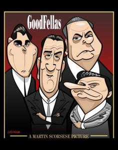 Directed by Martin Scorsese, Goodfellas centers around the Italian Mafia in