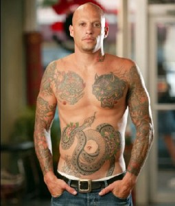 Miami Ink tattoos, tattoos for men
