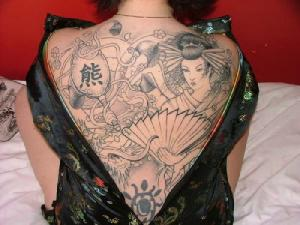 Miami Ink Tattoo Gallery: Asian Japanese Dragon Tatttoos Gallery