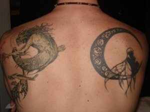 possess a moon tattoo while your accomplice may have the sun tattooed.