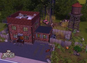 The Tattoo Studio - Community Lot by -Shady-. Download at Mod The Sims