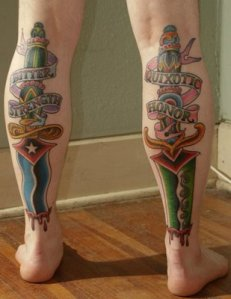 Tattoos from the Blogosphere: The Back of Nathan's Legs