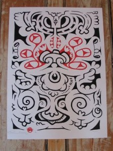 New Spaghetti tattoo prints from Mr Wim