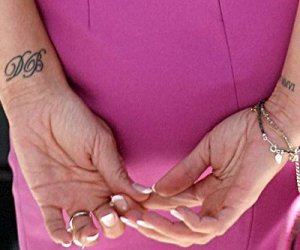 The Poshest of Wrist Tattoos. We just discovered that Victoria Beckham (aka