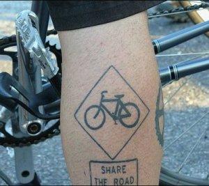 Categories: Bike Tattoos I'm a tremendous tattoo fan.