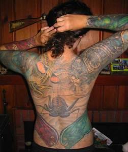 new tattoo bug lady