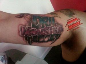 Logo/Tattoo Design: Dru The Monster · Newer Post Older Post Home