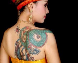 Blaze Schwaller - Buddha Tattoo THAILAND DRAGON TATTOO.