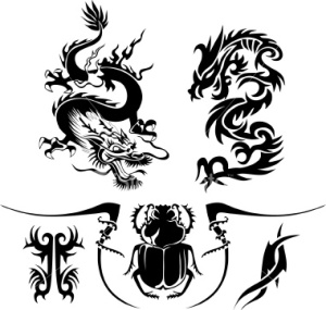 dragon tattoo art latest