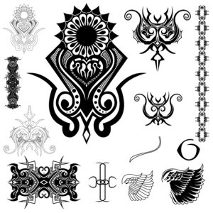 tribal skull tattoo tattoo pictures online. Black Bedroom Furniture Sets. Home Design Ideas