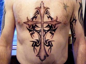 It's not to hard to get a tattoo in memory of someone if you knew them. Tribal cross tattoo designs. at 8:22 AM