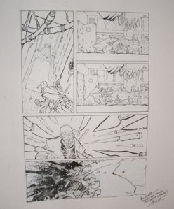 art on display from the upcoming Tori Amos anthology, Comic Book Tattoo.