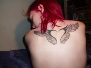 Labels: Temporary Angel Tattoo Design Picture Labels: angel tattoo