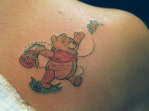 Winnie The Pooh Tattoos