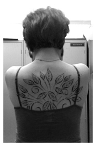 I myself have three tattoos, with two of them being nature themed.