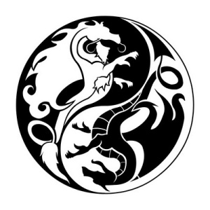 Ying Yang Tattoo. Ying yang is a symbol that depicts all the warring ideals